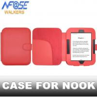 China Rosy Smart Simple Nook Leather Case , Stand Nook Tablet Covers And Cases on sale