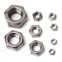 Quality OEM Zinc Plated / Hot-dip Galvanized Nuts Precision Hardware Parts for sale
