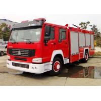 China Mine Dust Fire Tender Vehicle / Modern Fire Trucks 15-20CBM LHD With ISO on sale