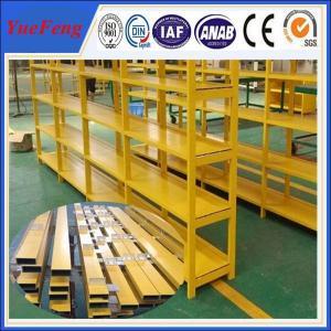Quality China manufacture of aluminium price per kg, aluminium profiles for shelf for sale