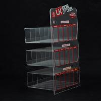 Quality E Liquid 3 Tier Acrylic Retail Display Stands 200PCS For Adevertisement for sale
