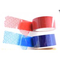 Buy Partial Total Transfer Security Tape Tamper Evident Tape for Bag Sealing Tape at wholesale prices
