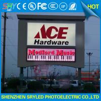 China Waterproof DI P 3 in 1 P10 Outdoor Full Color Led Advertising Display on sale