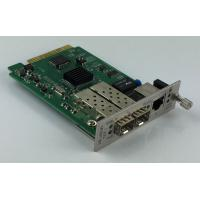 Buy Remote Management 10G Media Converter  With 1 + 1 Fiber Optical Protection at wholesale prices