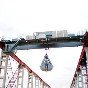 China Insulating Double Girder Bridge Crane Electric Hydraulic Garbage Disposal Supply on sale