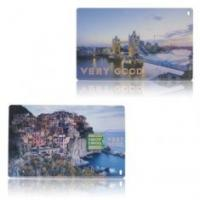 Buy cheap Promotional credit card USB flash memory sticks 1GB 2GB 4GB print logo  from wholesalers