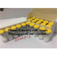 Quality Enterprise Standard Weight Loss Ghrp-6 CAS 87616-84-0 HgH Secretagoue Pharmaceutical Human Growth Peptides High Purity for sale