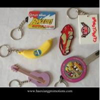 Quality Made in China high quality 3D Custom soft PVC Rubber Keychain/ Silicone Keyring for sale