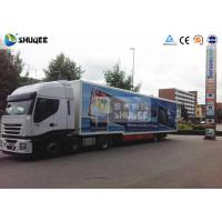 Quality Outdoor Movable Truck Mobile 5D Cinema Equipment 5D Flying Cinema for sale