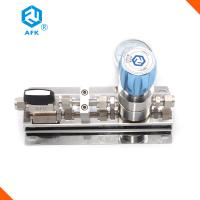 Quality Stainless Steel Argon Gas Panel Pressure Regulator Valve for sale