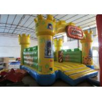 Quality Waterproof Zoo Inflatable Bouncy Castle , Cartoon Commercial Grade Bounce House for sale