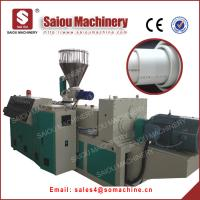 Quality pvc pipe production line water supply or drain water in zhangjiagang for sale