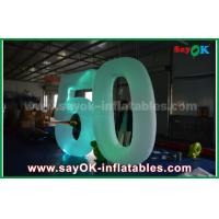 Quality Customized Inflatable Number With LED Light For Event Advantages for sale