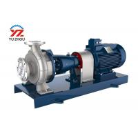 Buy cheap Horizontal Corrosion Resistant Pumps , Stainless Steel Centrifugal Pump Oil Type from wholesalers