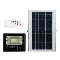 Quality 25W 56LED Solar Flood Lights with Remote Solar Security Lamp for Garden Football Pitch Outdoor Basketball Court for sale