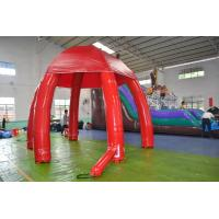 Quality Huge Inflatable Advertising Event Tent / Inflatable Air Dome Tent in Red for sale