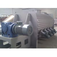 High Speed Powder Ploughshear Mixer , Jacketed Ribbon Blender With Hot Water Injection for sale