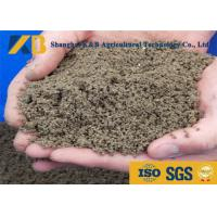 Quality Content Blood / Bone Organic Fish Meal Fertilizer Easily Digested By All Animals for sale