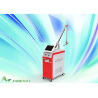 China Tattoo Birthmark Freckle Removal Q-switched Nd Yag Laser 532&1064nm vertical beauty machine for sale