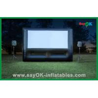 Quality Dual Purpose Inflatable Movie Screen /  Inflatable Billboard for sale