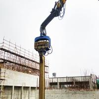 Quality Concrete piles foundation equipment sheet piling hammer for sale