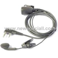Quality 1 ear-hook microphone for 2 way radio for sale