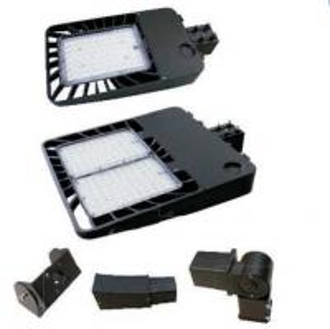 China Garden LED Shoebox Area Light , Outdoor Led Street Lights 370V - 480V on sale