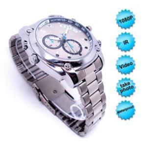 Quality 8GB HD 1080P Waterproof Spy Watch Camera Mini Digital Video Recorder W/ Night Vision for sale