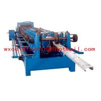 Quality High Frequency PLC CZ Purlin Roll Forming Machine With Gear Box Transmission for sale