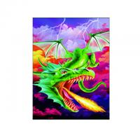 Quality Eco - Friendly 3D Lenticular Photo For Store With PS / MDF Frame for sale