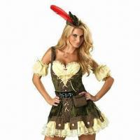 Quality Robyn Hood Costumes, Suitable for Women for sale