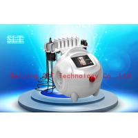 Red Diode Lipo Laser Slimming Beauty Machine / Ultrasound Cavitation RF Cellulite Removal for sale