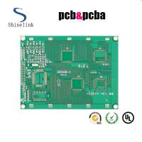 Quality Lead free single sided pcb layout FR4 material with 1OZ copper for sale