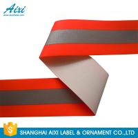 Quality TID T / C Silver Orange Washable High Visibility Reflective Tape For Uniform for sale