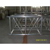 Quality Outdoor Party Aluminum Square Truss 500mm X 500mm Silver / Black With Spigot Connector for sale
