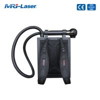 Quality 100W Backpack Portable Laser Cleaning Rust Removal Machine for sale