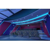 Quality Attractive Theme 5D Movie Theater With 7.1 Audio System And Pipes for sale