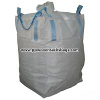 Quality Custom Large FIBC Bulk Bags PP Jumbo Bags with Filling Spout Large Capacity 500 - 3000kg for sale