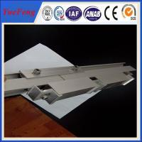 Quality 6060 / 6063 anodizing Aluminum Solar Rail of Solar Mounting Systems for sale