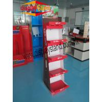 Quality Pretty visual and attractive paperboard floor Display boxes for FMCG products for sale