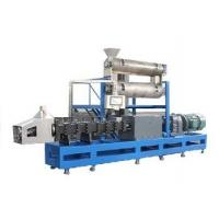 Quality Free formula and installation 2500-3000kgs/h steam type double screw extruder pet food making machine for sale
