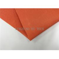 Quality 180 - 200℃ PVC Coated Fiberglass Fabric Flame Resistant Heat Insulation for sale