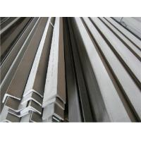 Quality ASTM 304 Stainless Steel Angle Bars With Polished, Peeled Surface For Petroleum, Chemical Industry for sale