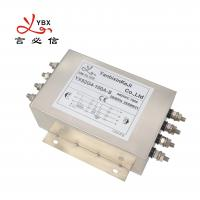 China 100A Three Phase Inverter EMI Filter / Power Inverter Noise Filter on sale