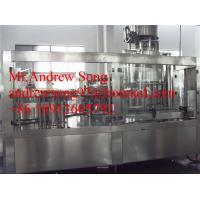 China automatic beer glass bottle washing filling capping machine on sale