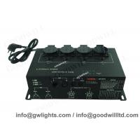 China 4 Channel DMX Light Controller , 50Hz - 60Hz Digital DMX Dimmer Pack on sale