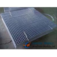 Quality Press-locked Steel Grating, Smooth and Serrated Surface, Integral Structure for sale