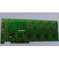 Quality Plating gold double side pcb ( 2 layer pcb board) E320045 ROHS for power supply for sale