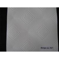 Quality PVC Laminated Gypsum Ceiling Tiles #567 for sale