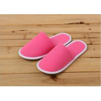 Quality Luxury Indoor Terry Towel Disposable Hotel Slippers For Hotels / Guests Customized for sale